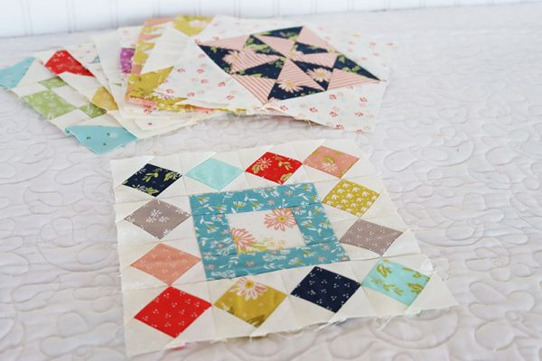 Moda Block Heads 3 Block 37 featured by Top US Quilting Blog, A Quilting Life