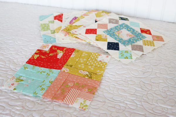 Moda Block Heads 3 Block 38 featured by Top US Quilting Blog, A Quilting Life