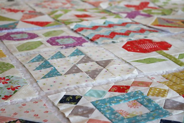 Moda Block Heads 3 Block 41 featured by Top US Quilting Blog, A Quilting Life