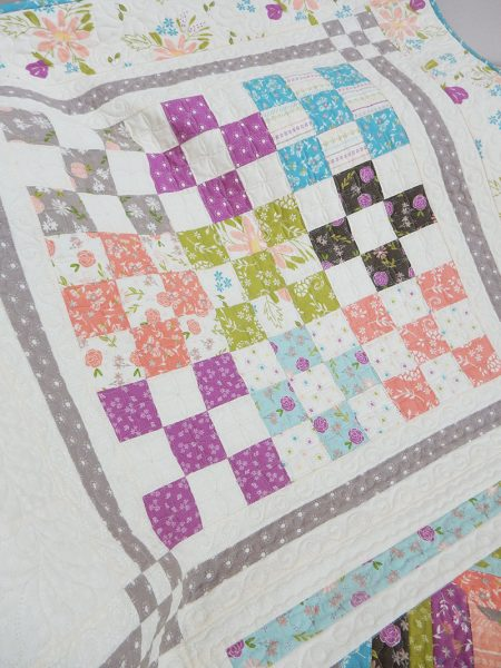 Labor of Love Sew Along Block 3 featured by Top US Quilting Blog, A Quilting Life