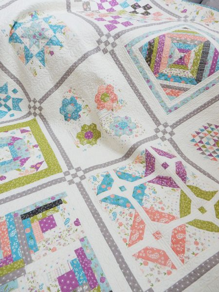 Labor of Love Block 6 Featured by Top US Quilting Blog, A Quilting Life