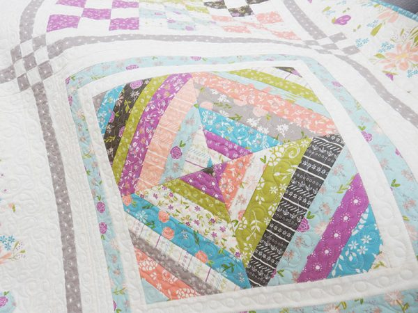 Labor of Love Sampler Block 4 featured by Top US quilting Blog, A Quilting Life