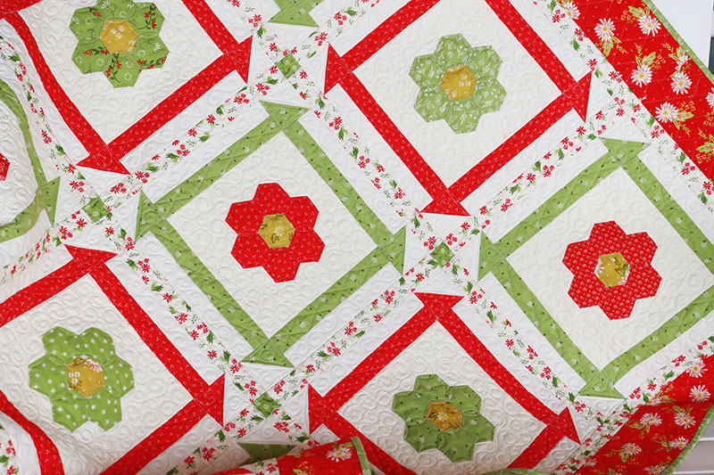 Moda Block Heads 3 Block 45 New Christmas Quilt A Quilting Life