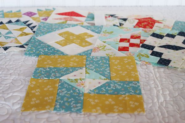 Moda Block Heads 3 Block 52 featured by Top US Quilting Blog, A Quilting Life