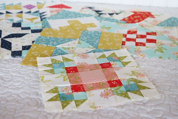Moda Block Heads 3 Block 53 featured by Top US Quilting Blog, A Quilting Life