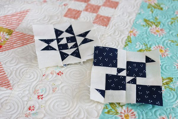 Sewcialites Block 28 (+27) featured by Top US Quilting Blog, A Quilting Life