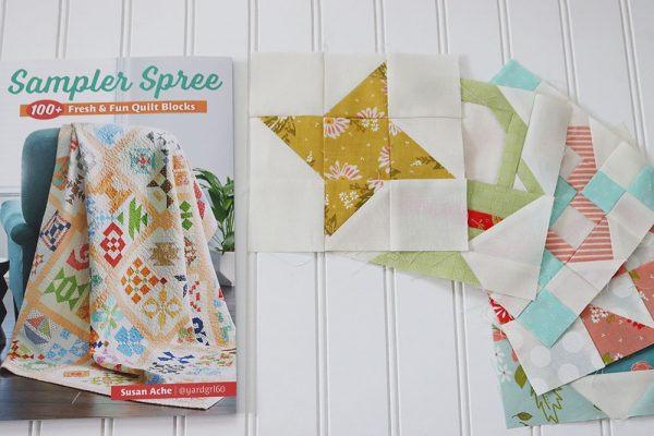 Sampler Spree Quilt Along Week One featured by Top US Quilting Blog, A Quilting Life