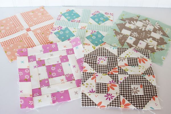 Sampler Spree Sew Along Week 7 featured by Top US Quilting Blog, A Quilting Life