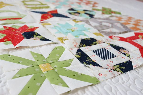 Sampler Spree Quilt Along | Week Four featured by Top US Quilting Blog, A Quilting Life
