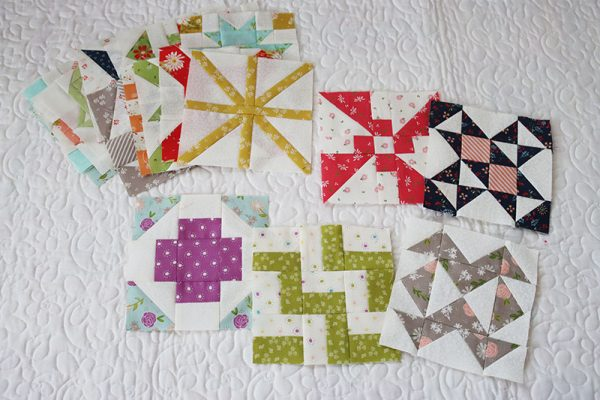 Sampler Spree Quilt Along | Week 5 featured by Top US Quilting Blog, A Quilting Life