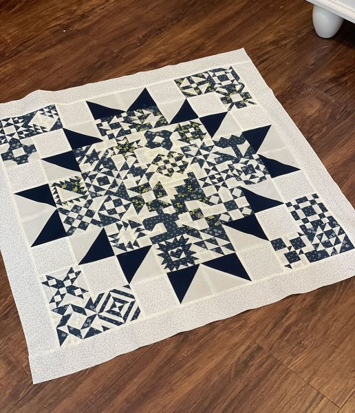 Sewcialites Wall Hanging Quilt + More
