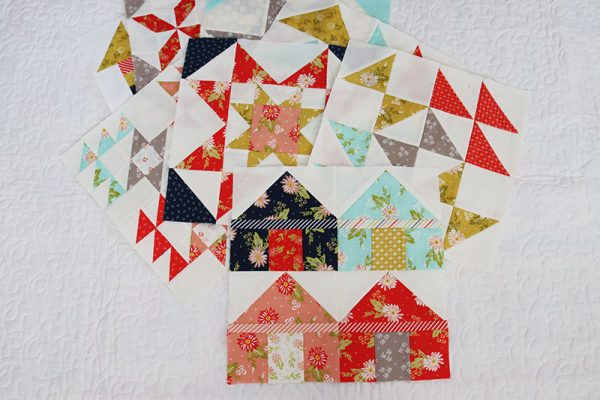 Quilt Block of the Month: August 2021 featured by Top US Quilt Blog, A Quilting Life