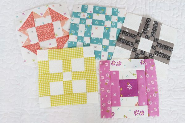 Sampler Spree Week 10 Quilt Along featured by Top US Quilting Blog, A Quilting Life