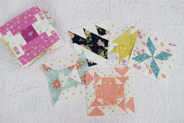 Sampler Spree Quilt Blocks + Village House Blocks featured by Top US Quilting Blog, A Quilting Life