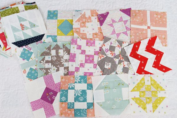 Sampler Spree Week 8 Featured by Top US Quilt Blog, A Quilting Life