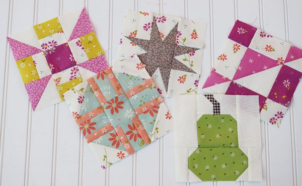 Sampler Spree Quilt Along Week 9 featured by Top US Quilt Blog, A Quilting Life