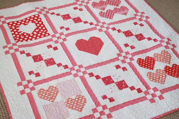 Stitch Pink Quilt Along Update featured by Top US Quilting Blog, A Quilting Life