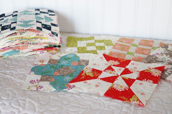 Sampler Spree Quilt Blocks Update featured by Top US Quilt Blog, A Quilting Life