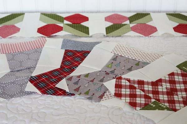 All the Trimmings Mystery Quilt Week 2 featured by Top US Quilt Blog, A Quilting Life